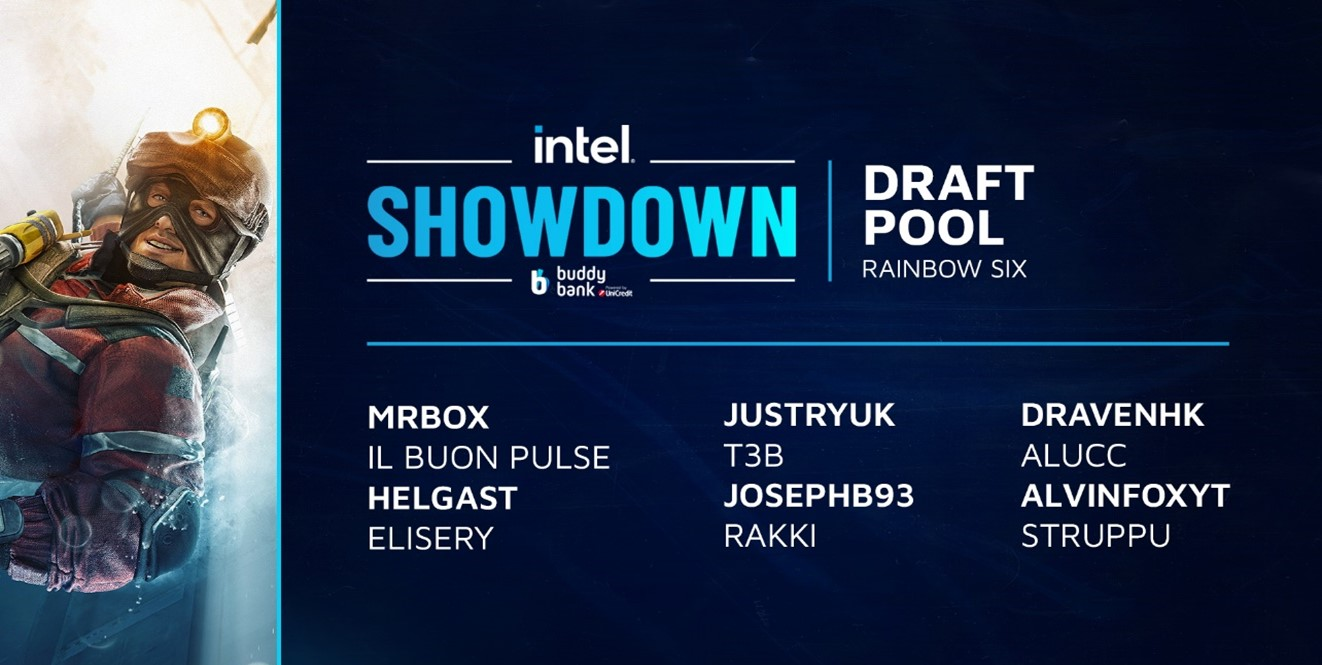 RAINBOW 6 SIEGE INTEL SHOWDOWN