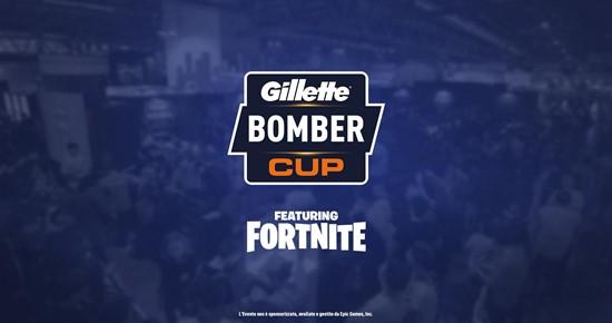 Gillette bomber cup Fortnite